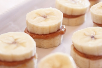 1. Peanut Butter and Bananas