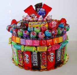1. Construct a Candy Cake