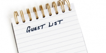1. Who is on Your Guest List?