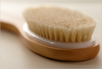 9. Try Dry Brushing Yourself