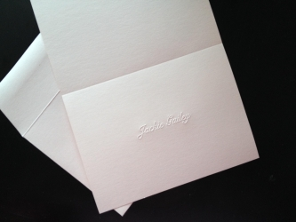 2. Personalized Stationary