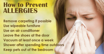 1. AVOID YOUR ALLERGY TRIGGERS