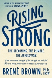 1. Rising Strong by Brene Brown