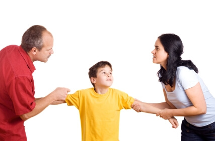 Parents fighting over child, using child as a pawn on Relationships360.com