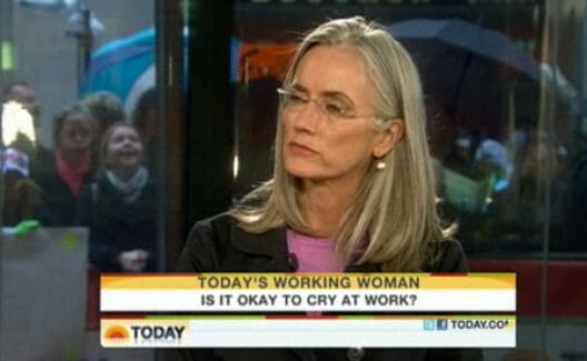 NBC TODAY Show -Is It OK to Cry at Work