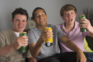teenage boys drinking beer 300x200 Would You Let Your Teens And Friends Drink In Your Home?