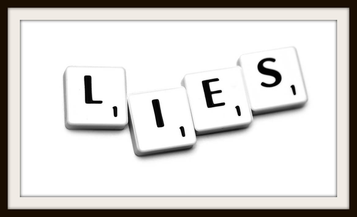 What should I do about my lying mother?