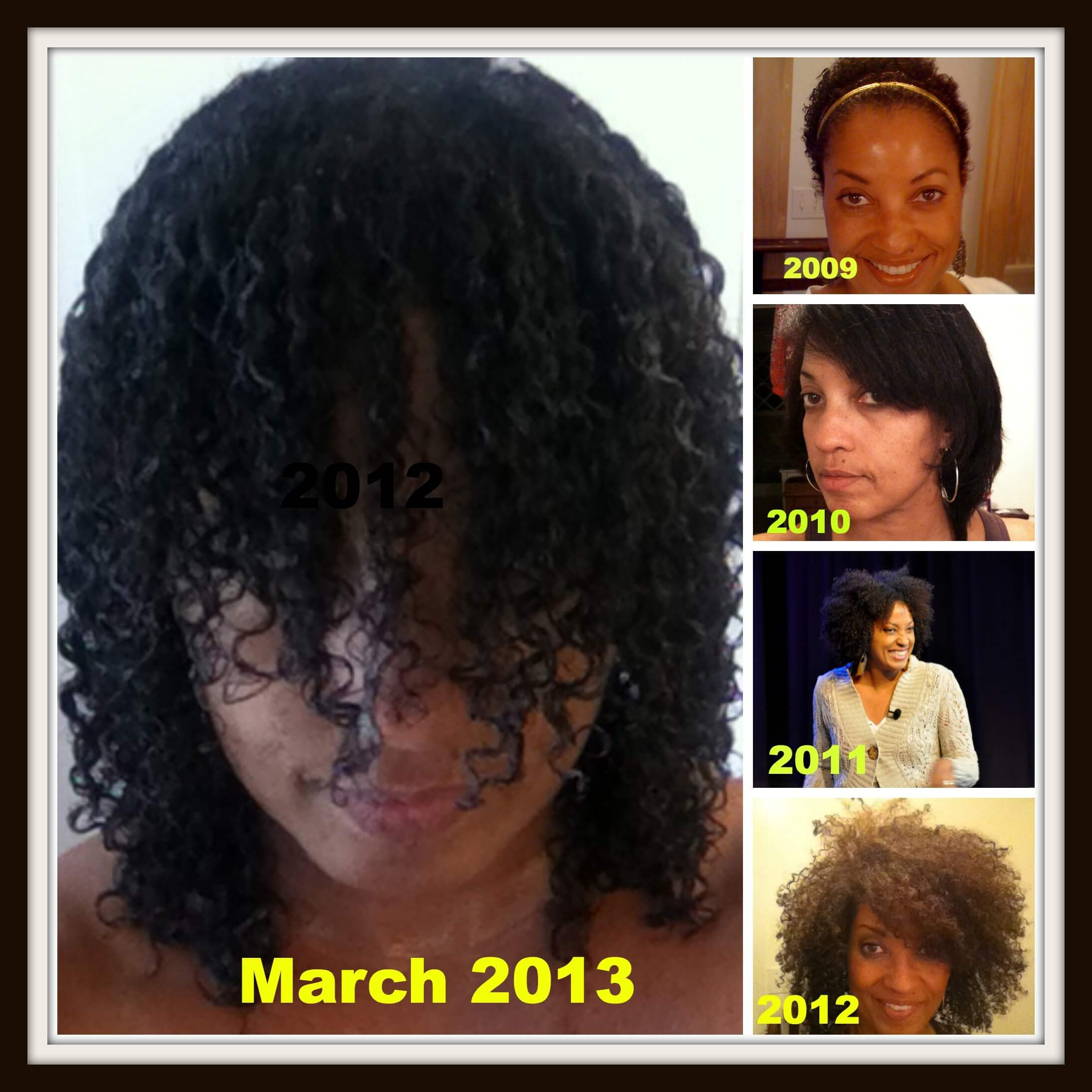 Natural Hair Journey One Year March is my new hair's