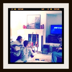 Jamming with My Kids