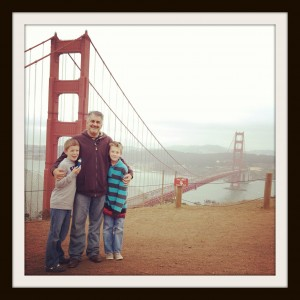 In San Francisco with the Twins