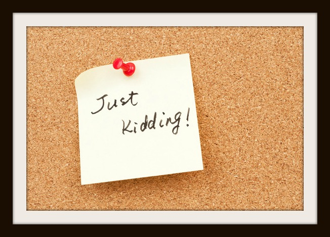Just kidding words written on paper and pinned on corkboard