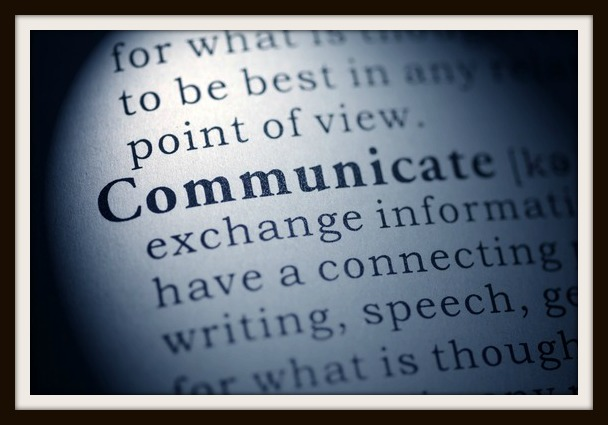 Fake Dictionary, Dictionary definition of the word communicate.