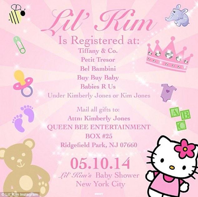 The Gem Debate Lil Kim Asks For Baby Shower Gifts From