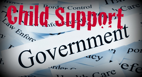 Child support and government