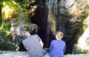 With Sam Waterfall