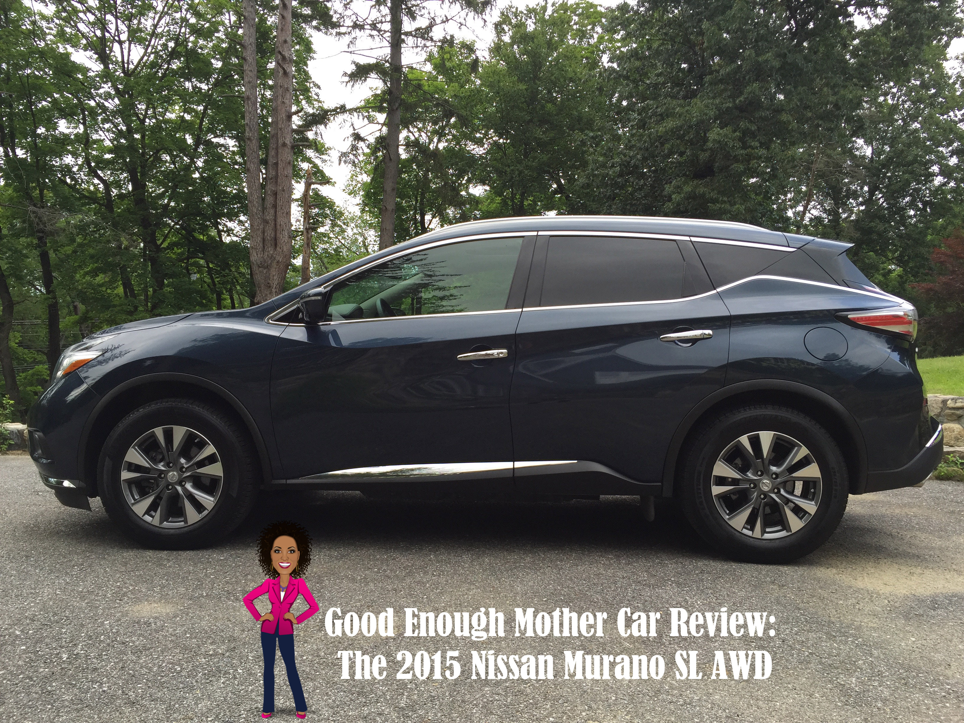 good enough mother car review the 2015 nissan murano sl awd video. Black Bedroom Furniture Sets. Home Design Ideas