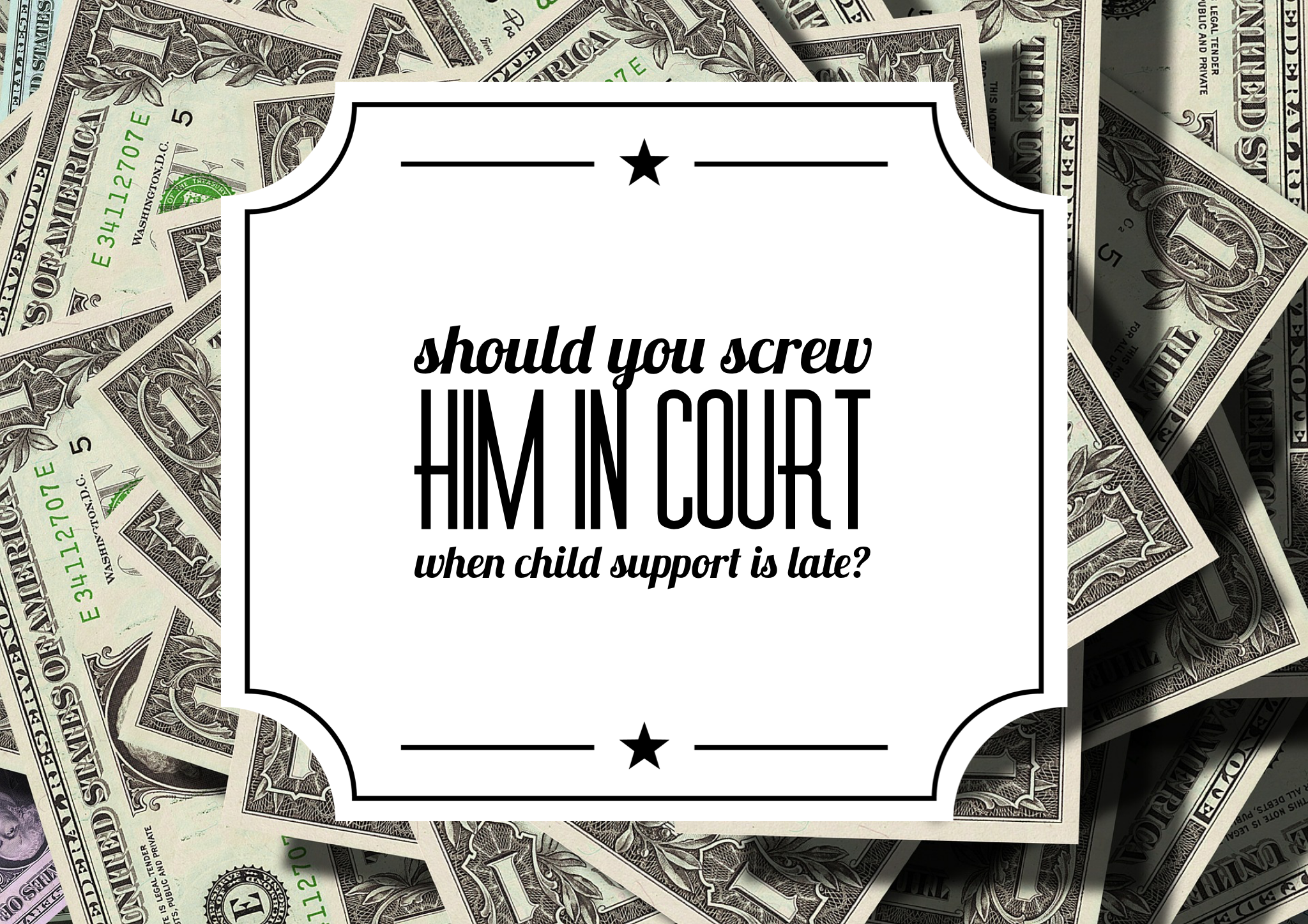 child support is not enough Do not stop withholding for child support until official notification is received from the (what does the employer pay first when there is not enough money to pay.