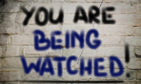 You Are Being Watched Concept